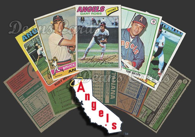 1975 Topps  -79  California Angels 50 Card Team Starter Set / Lot